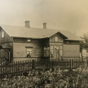 Photo exhibition Hitis then and now in Dalsbruk Library