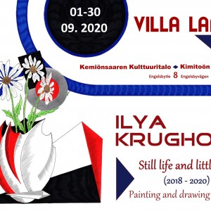 Konstutställning : Ilya Krughoff : Still life and little more