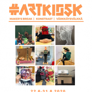 Artkiosk window exhibition