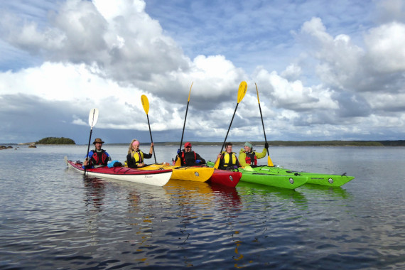 Kayak rental and guided trips